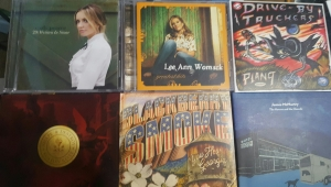 The albums I bought from up above.